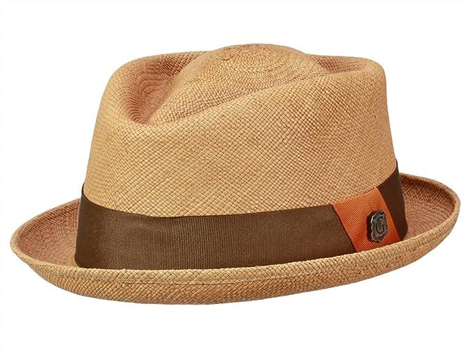 cd8488265483e Bigalli Men s Trilby Hat Diamond Contempo - brown  Amazon.co.uk ...