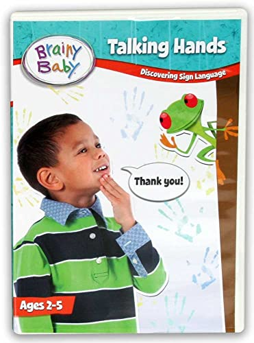 Amazon Brainy Baby Talking Hands Sign Language DVD Deluxe Edition Not Known Movies TV