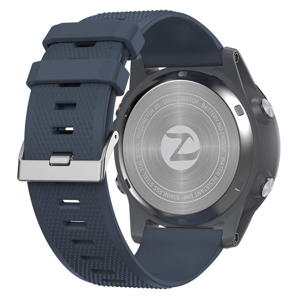 LUXISDE Fitness Bracelet Smartwatch Ladies, Sports Watch Activity Tracker 3 Waterproof Alarm by LUXISDE