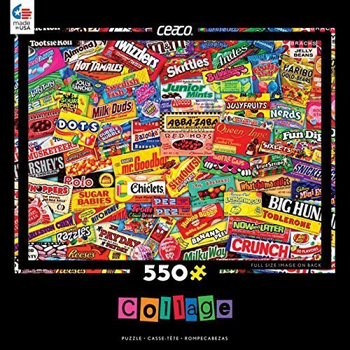 Ceaco Candy Logo Collage Puzzle (550 Piece)