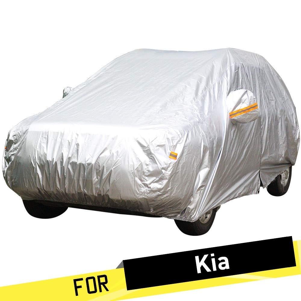 車のカバー防水車のカバーサンレインスノープロテクターアンチUVカバーKia Venga Vq-RボレゴKoup Carens Cadenza Opirus Shuma Sorento Vq (Color : For Kia Opirus)  For Kia Opirus B07TH2D2BK