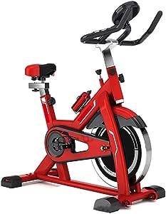Bicicleta De Spinning Esta bicicleta es fácil de montar y es adecuada for cualquier tamaño Entrenador de sala Bicicleta de ejercicio Ritmo cardíaco Fitness Bicicleta de ejercicio fija Ejercicio Aeróbi: Amazon.es: Hogar