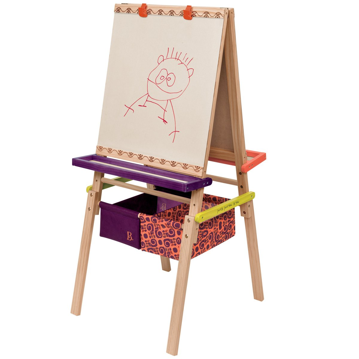 B.Toys BX1319Z - B. Easel Does It Cavalletto del Pittore Pro Toys