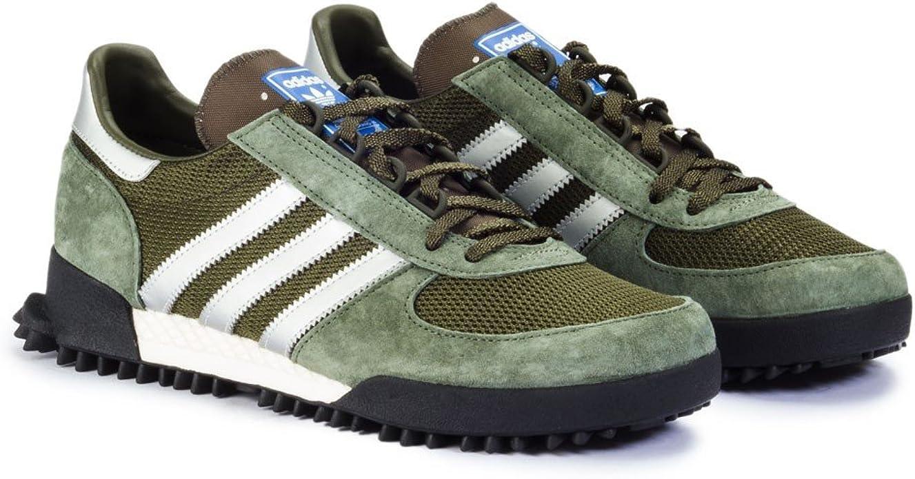 Adidas Marathon TR Verde - Zapatillas: Amazon.es: Zapatos y complementos
