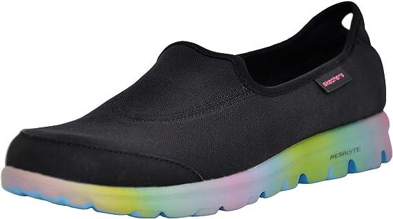 Skechers Performance レディース ゴー ウォーク スリッポン ウォーキングシューズ US サイズ: 7.5 カラー: ブラック