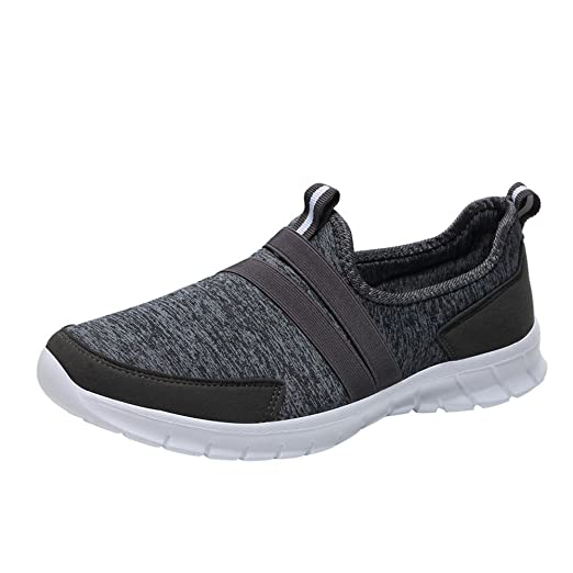 8af6c0c919e67 Amazon.com: Women's Lightweight Walking Shoes Mesh Sneakers Leisure ...