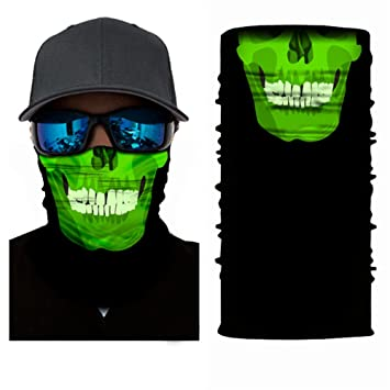 3d tocado, cráneo máscara facial, Magic bufanda, Braga, bandana ...