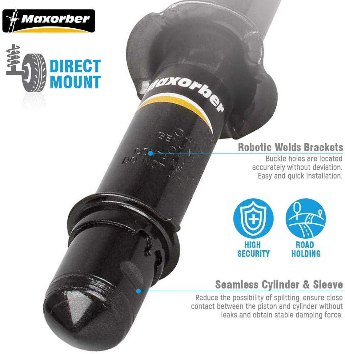 Maxorber 4 Pieces Front /& Rear Full Set Shocks Struts Absorber Compatible with Honda CR-V 1997 1998 1999 2000 2001 Shock Absorber 1921261 1921260 341260 341261