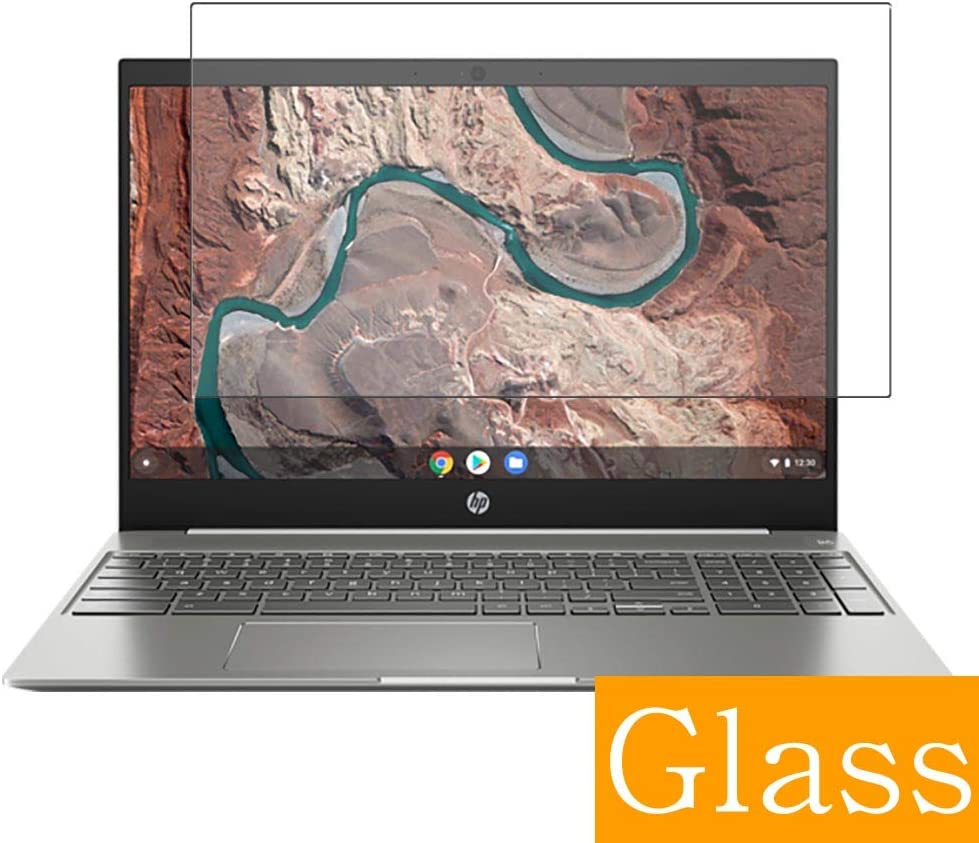 "Synvy Tempered Glass Screen Protector for HP Chromebook 15-de0000 si / de0021cl / de0000na / de0010nr / de0035cl / de0517wm / de0500nd / de0200nd 15.6"" Visible Area Film Protectors"
