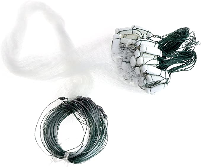 LLAni Filet de p/êche en nylon monofilament monofilament durable Accessoires flotteur pi/ège