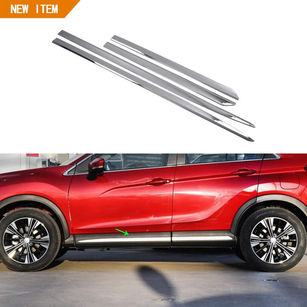 OBL compatibile con ABS portiera laterale cover Trim per Eclipse Cross 2018 2019 accessori auto