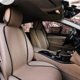 Heated Plush Car Seat Cover 12V Automobile Seat Heater Cu...
