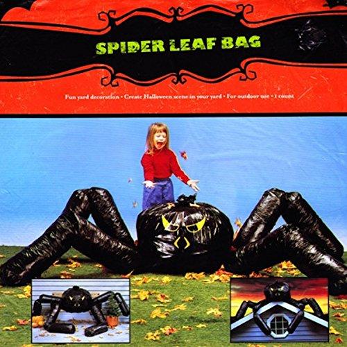 Spider Leaf Bag (Garbage Bag Body Halloween)