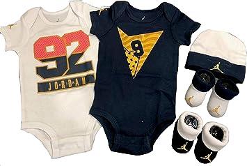 101b13ce771ed Amazon.com: Nike Michael Jordan 23 Jumpsuit 5 pcs Infant Layette ...