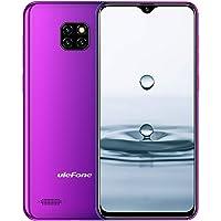 Ulefone Note 7 (2019) Smartphone [DREI Kameras, 15.5 cm (6,1 Zoll), 16 GB Speicher, 3500mAh Akku, Android 8.1 (Go), Dual SIM DREI Karte Slot, Global Version] Twilight