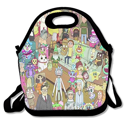 Review Rick And Morty Season 2 Travel Tote Lunch Bag