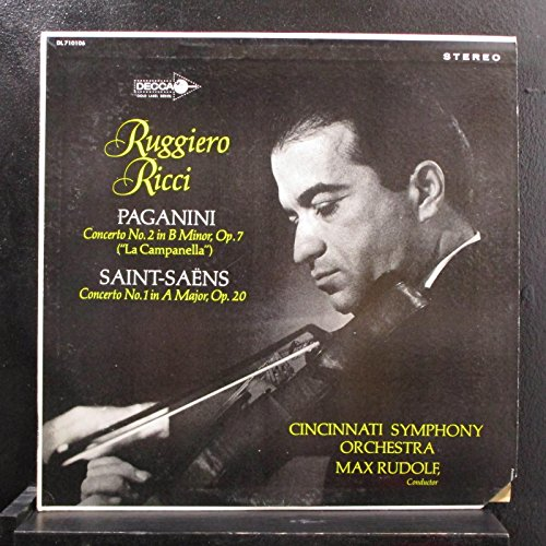 Paganini Concerto No  2 In B Minor  Op  7   La Camanella   Saint Saens