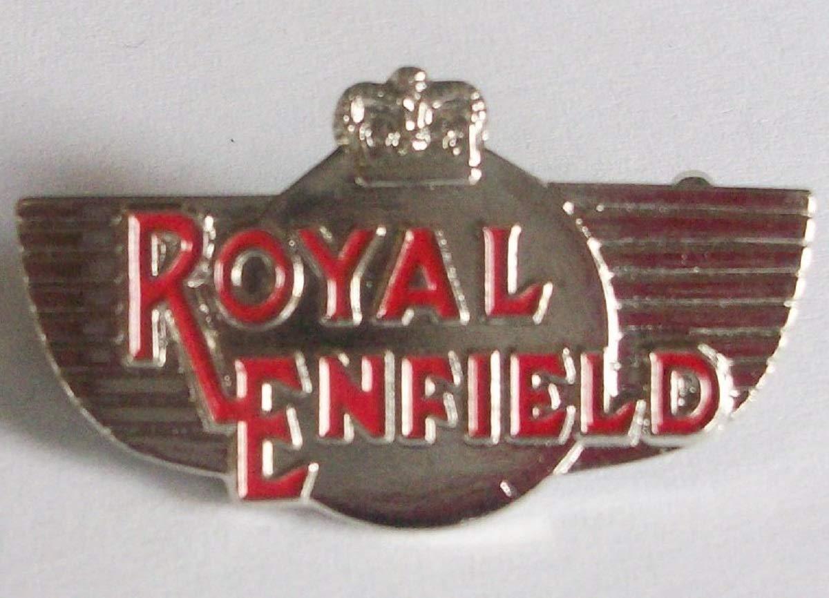 G/én/érique Badge Royal Enfield en /émail