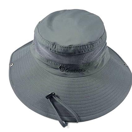 wei Gorra de béisbol del Casquillo de la Pesca del Casquillo de la Pesca ,Gris