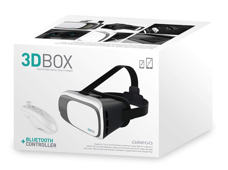 fde671e57b Omega OGVR3DRC Universal 3D Virtual Reality VR Glasses: Amazon.co.uk:  Electronics