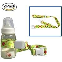 Universal botella de bebé seguridad correa cinturón, hulisen bebé un vasito soporte Stop Drop para trona Stroller Pram, cesta de la compra