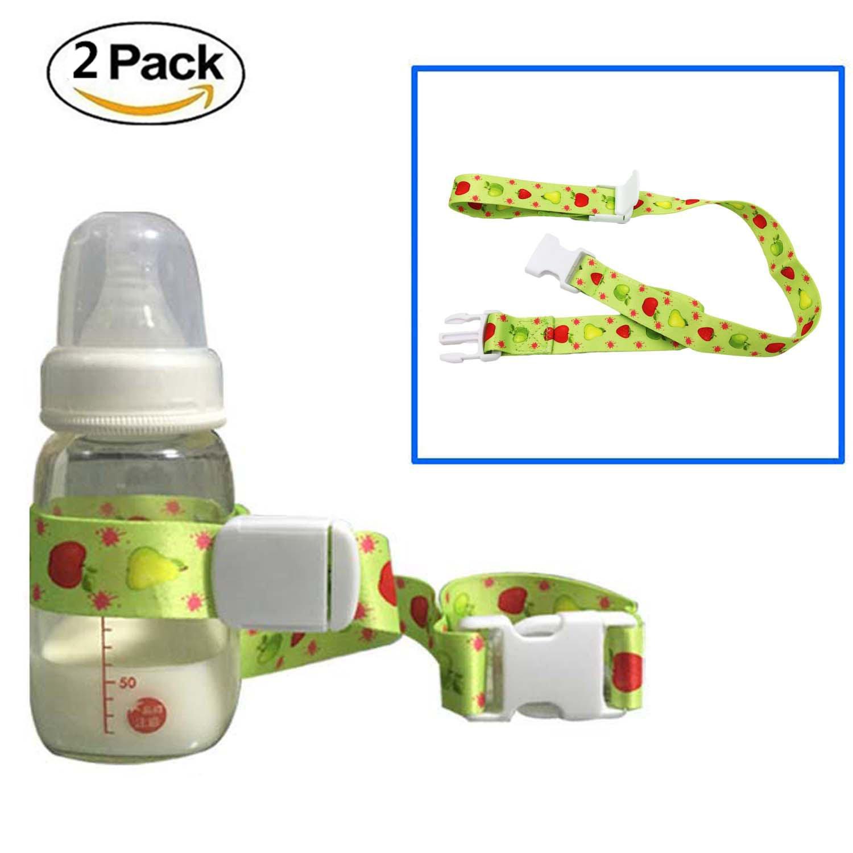 Universal Baby Flasche Sicherheit Gurt Gürtel, HULISEN Baby Schnabeltasse Halter Stop Drop für Hochstuhl Buggy Kinderwagen, Einkaufskorb