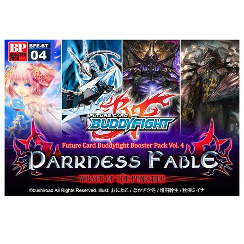 Future Card BuddyFight BFE-BT04 Darkness Fable Booster BOX [30 Packs]