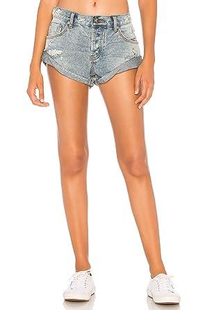 Denim Shorts Size 24 One Teaspoon
