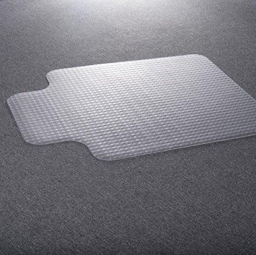 Bestee 48''X36'' Clear PVC Home Office Chair Floor Mat Studded Back Pile Lip Carpet Rectangular Standard Carpets Protector New