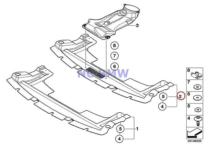 Amazon Com Bmw Mini Genuine Underbody Paneling Undercar Shield