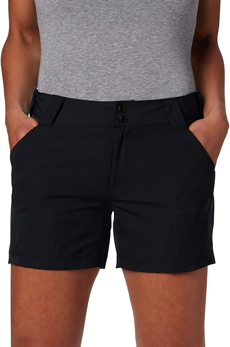 Black,16x7 Columbia Womens Coral Point III Shorts