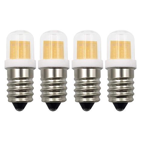 SES - Bombilla LED E14 de luz blanca cálida, 3000 K, 3 W ...