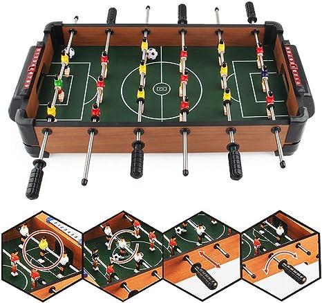 TRPYA Seis-Bar Mesa de futbolín Infantil Puzzle Ocio de Entretenimiento Interactivo Competitiva Juego Deportivo de Juguete de Regalo: Amazon.es: Deportes y aire libre