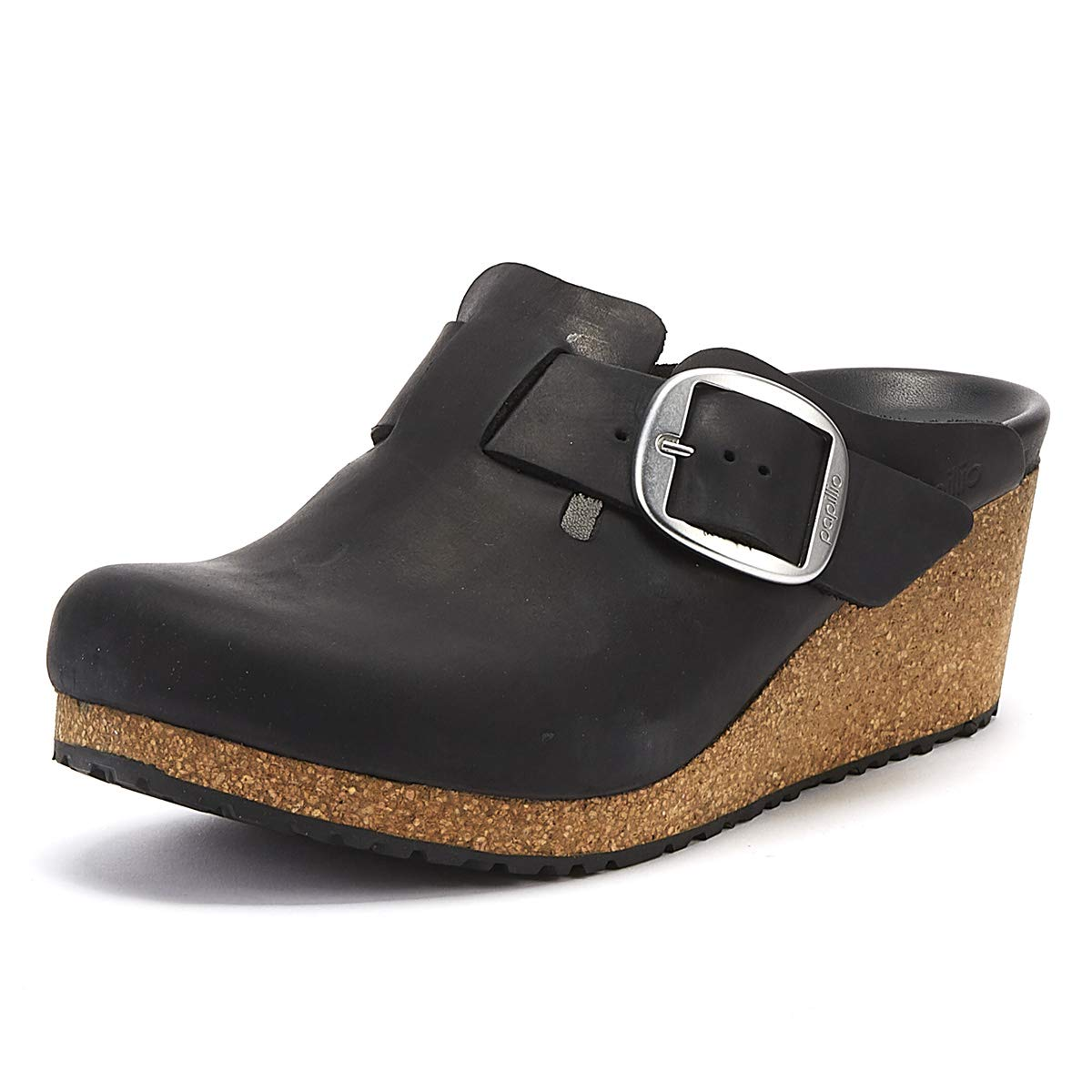 BIRKENSTOCK Papillio by Fanny Big Buckle FL Black 42: Amazon