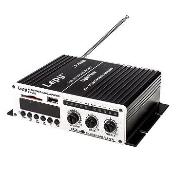 LEPY Hi-Fi Amplificador de audio Amplificador de Potencia ...