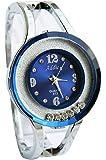 Addic Rolling Diamonds Amazing Blue Dial Watch for Women's & Girls.