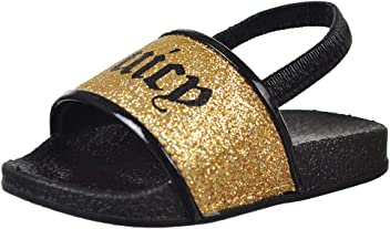 7558e98ccd57 Juicy Couture Baby Girls  Slide Sandals