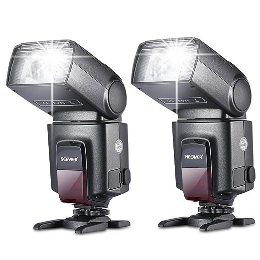 73 opinioni per Neewer due TT560 Hot Shoe Flash Speedlite Canon Nikon Panasonic Olympus Fujifilm