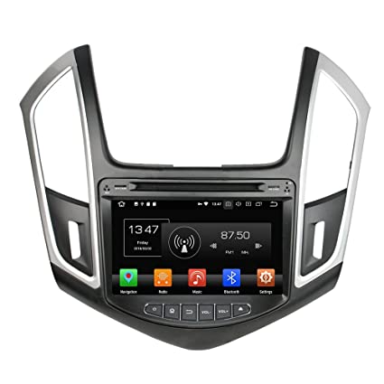 Kunfine Android 8.0 Octa Core Car DVD GPS Navegación Multimedia Player Car Stereo para Chevrolet Cruze