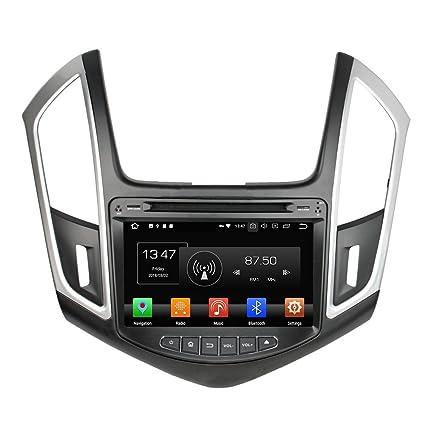 Kunfine Android 8.0 Octa Core Car DVD GPS Navegación Multimedia Player Car Stereo para Chevrolet Cruze