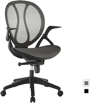 Langria Mid-Back Mesh Adjustable Swivel Chair