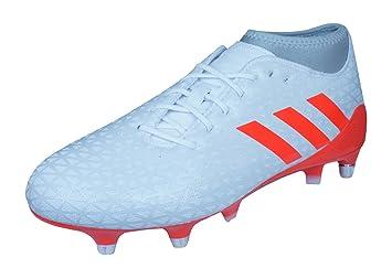big sale a7484 915a7 Adizero Malice Rio 7s SG Rugby Boots - WhiteSolar RedClear Grey -