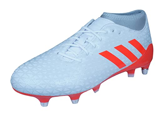 white adidas rugby boots