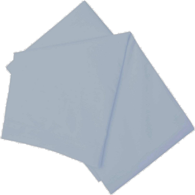 Blue Twin Belledorm Brushed Cotton Flat Sheet