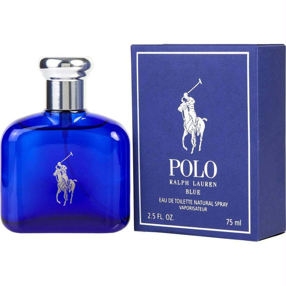 B0001G7420 Ralph Lauren Polo Blue for Men Eau de Toilette Spray, 2.5 Fluid Ounce 61NBpoI2k0L