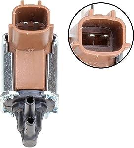 ECCPP New Vapor Canister Vent Solenoid Fuel Vacuum Valve Fit for 2001-2003 Infiniti QX4 3.5L 1996-1998 240SX 2.4L 2000-2001 Xterra 2.4L 911-507
