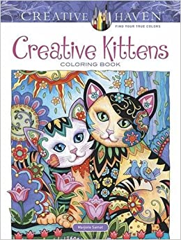 creative haven creative kittens coloring book adult coloring