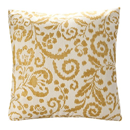 Yellow Floral Pillow - 2