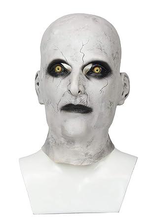 Mesky Valak Máscara Mask de The Nun Disfraz para Halloween Fiestas de Terror Navidad Terror Látex