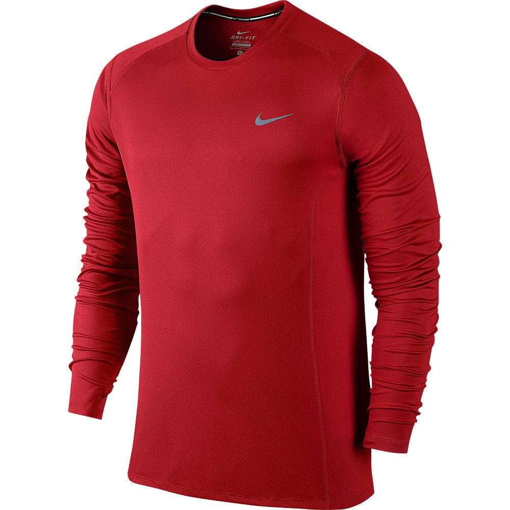 2aa41da8 Nike Dri Fit Miler Long Sleeve T Shirt Mens – EDGE Engineering and ...